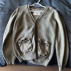 HAZZY'S Green Cardigan Sweater